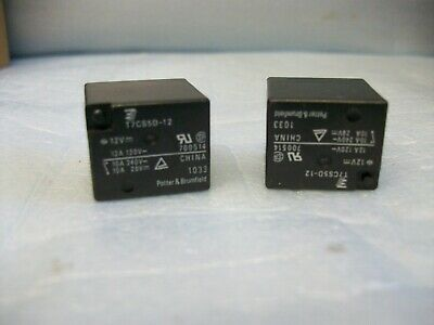 Potter /& Brumfield T7CS5D-12 Relay SPDT 12A 12VDC