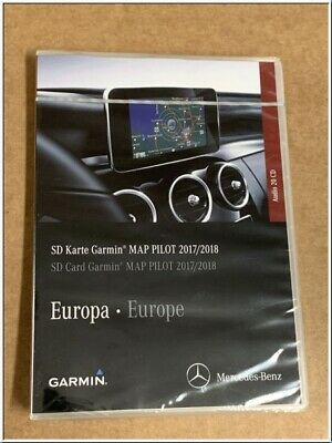 A2189061903 original Mercedes Garmin MAP PILOT 2017/2018 Europa NEU