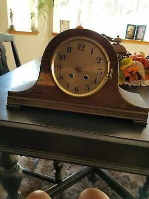 Antique French mantle Parts Clock NICE WORKS