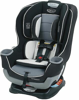 Graco - Extend2Fit Convertible Car Seat - Gotham