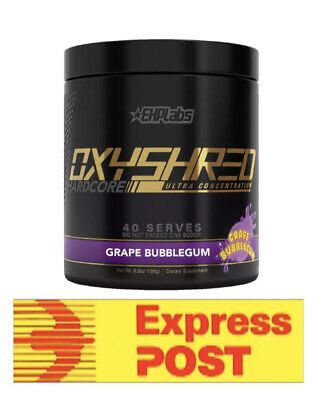 Oxyshred Hardcore Most Potent Thermogenic Fat Burner Ehplabs Oxy Shred