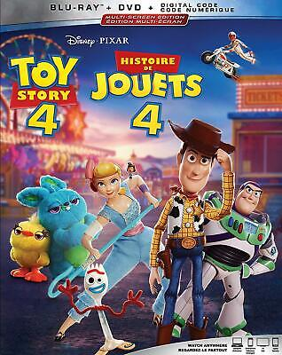 Toy Story 4 ( Blu-ray/DVD/Digital ) with Slipcover 2019
