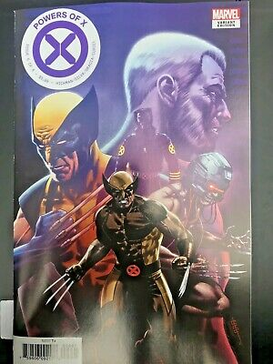 Powers of X #6 Character Decades Variant Wolverine 1st Print 2019 NM X-men