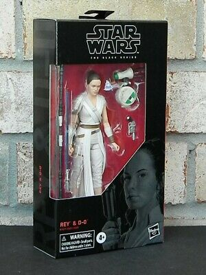 """REY and D-O Star Wars The Black Series 6"""" Action Figure EP IX ROS 91"""