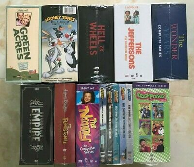 WHOLESALE LOT OF 10 PCS DVDS  TV Shows, Comedy, Drama ALL 217 DISC Brand New