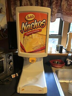 Commercial Ghel's Nacho Cheese And Chilli Warmer Dispenser Hot Top 2
