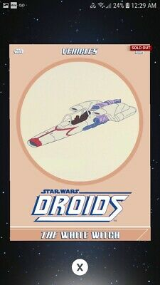 Topps Star Wars Digital Card Trader: Droids - The White Witch - Rare Insert