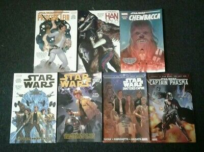 Marvel Star Wars trade paperback lot of seven