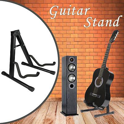 A-Frame Universal Guitar Free Stand Folding Rest Acoustic Electric Bass Holder