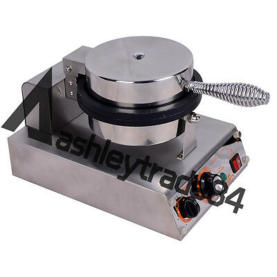 Commercial Ice Cream Waffle Cone Maker One Head Nonstick Baker