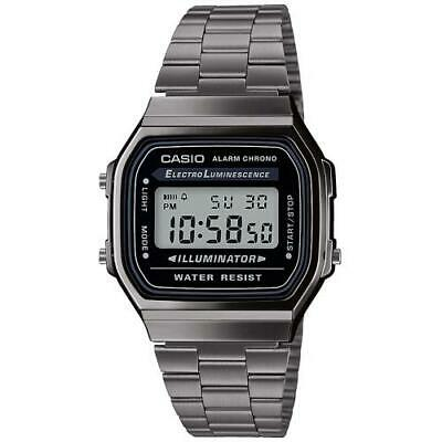 Orologio Casio Collection Vintage  Digitale Grigio A168Wegg-1Aef