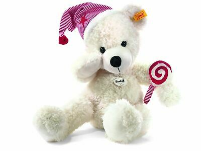 Steiff Lotte Teddy Bear with Cap+Lolly Childrens Soft Plush Toy, 111501