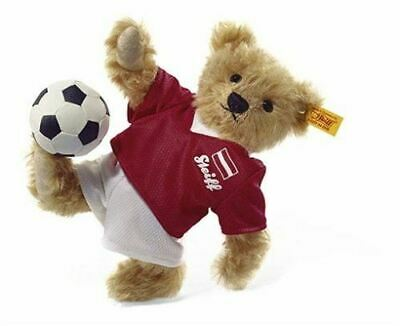 Steiff Football Teddy Bear Childrens Soft Toy Gift, 002960