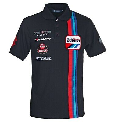 Genuine Suzuki Team Classic Polo Shirt (990F0-C2PLS)