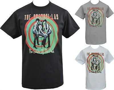 Mens SHANGRI LAS T-Shirt Leader of the Pack 60's Girlband Female Pop Band S-5XL