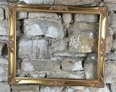 """Antique Style Gilt Picture Frames Rococo Baroque To Fit 20x16"""" Canvas Never Used"""