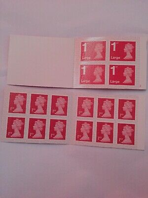 Royal Mail First Class Stamps 12 x 1st PLUS 4 x 1st Large Letter New FREE P&P
