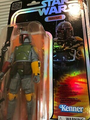 "2019 SDCC Exclusive Hasbro Star Wars Black Series 6"" Retro Kenner Boba Fett MOC"