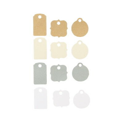 American Crafts Ms. Sparkle & Co. Paperie Mini Tags with Strings - Stationery Pa