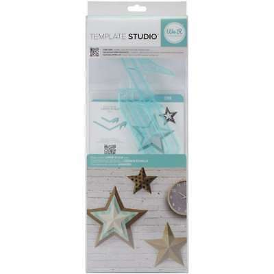 American Crafts We R Memory Keepers Template Studio Star Template