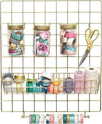 American Crafts Crate Paper Washi Storage Kit Gold