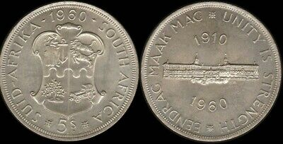 South Africa: 1960 5/- Unity is Strength Five Shillings