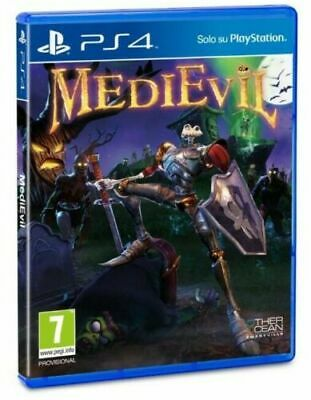 Medievil Remastered Ps4 Italiano Gioco Sony Playstation 4 Remake Nuovo Sigillato
