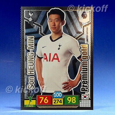 Panini Adrenalyn XL 2019-2020: Son HEUNG-MIN Premium Gold Limited Edition. Spurs