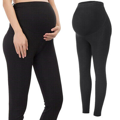 High Waist Pregnancy Yoga Pants Maternity Soft Slim Leggings Pregnant Women 4XL