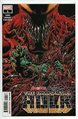 Absolute Carnage The Immortal Hulk #1  * First Print *     NM