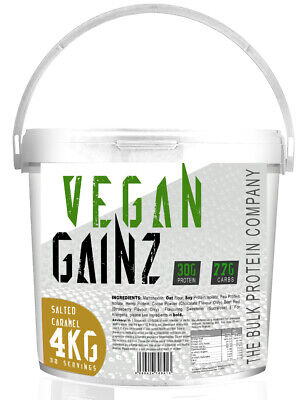 4Kg Vegan Protein Powder - Serious Mass Gainer Matrix Lean Protein Shake Blend
