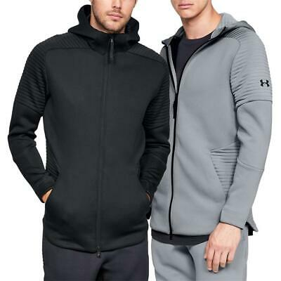 Felpa Uomo Under Armour Unstoppable Essential Bomber