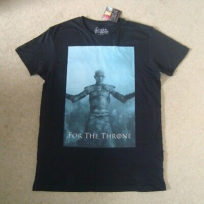 Men's GAME OF THRONES Official Tee Size M BNWT T-Shirt Top White Walkers 1-7