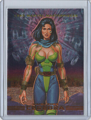1993 Marvel Masterpieces X-MEN 2099 DYNA-ETCH Chase Card #S2 CEREBRA SkyBox