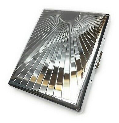 100's Metal One Sided King Cigarette Case US Seller Free Shipping