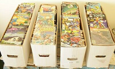 (Lot Of 50) Marvel, DC & Indie Comic Books ~1970s to Modern Age~