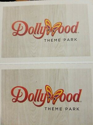 Dollywood Theme Park Tickets Exp 1/4/20