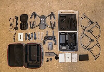 DJI Mavic Pro 4k Drone Quadcopter + ND Filters & more extras
