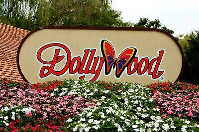 Dollywood Theme Park Tickets One Day Pass Pigeon Forge Tennessee Expire 12/31/20
