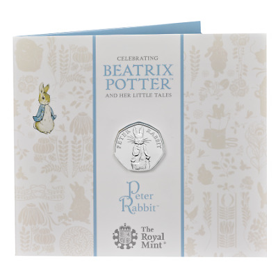 2019 Peter Rabbit 50p Fifty Pence Brilliant Uncirculated Royal Mint Pack