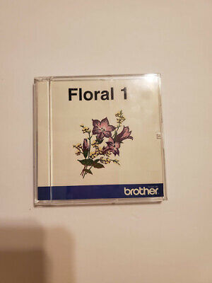 Brother Floral 1 Embroidery Design Boutique Memory Card Bernina Fast Shipping