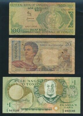 """Pacific Islands: 1942-95 """"COLLECTION FROM 6 DIFFERENT PACIFIC ISLANDS"""""""