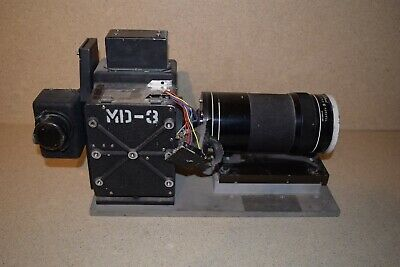 "MULTIDATA SCI 35mm Film Camera Flight Research- WOLLENSAK FOTOTEL 20"" 6.3"