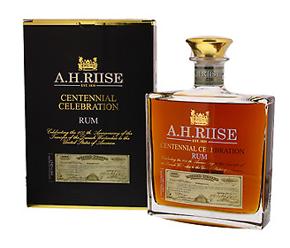 A.H.Riise Centennial Celebration 0,7l, alc. 45 Vol.-%, Rum Virgin Island