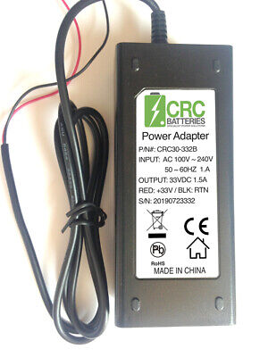 NEW 1.5AMP CHARGER FOR BISON / ACORN / BROOKS 80 and 180 STAIRLIFT