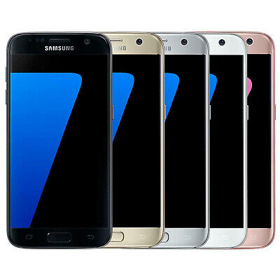 Samsung Galaxy S7 5.1 Inch Smartphone 32Gb Unlocked 4G Sim Lte Various Colours