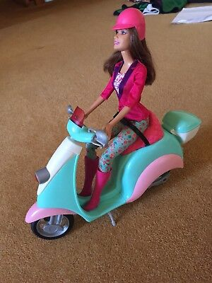 Barbie And Moped