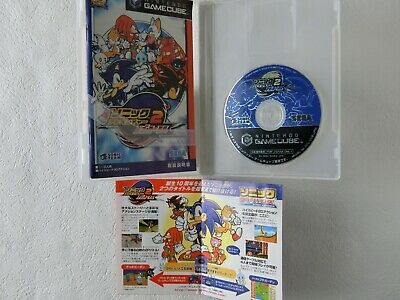 Sonic Adventure 2 BATTLE GC SEGA Nintendo Gamecube From Japan