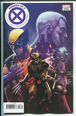 Powers Of X #6 Cafu Character Decades (Wolverine) Variant Cover - Marvel/2019