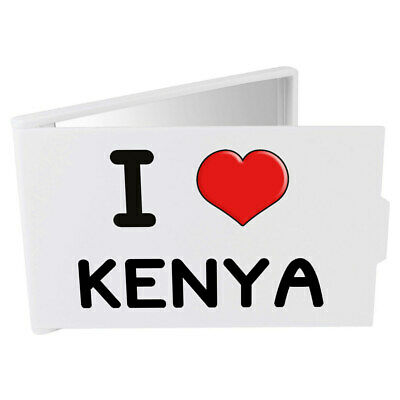 'I Love Kenya' Compact / Travel / Pocket Makeup Mirror (CM00000299)